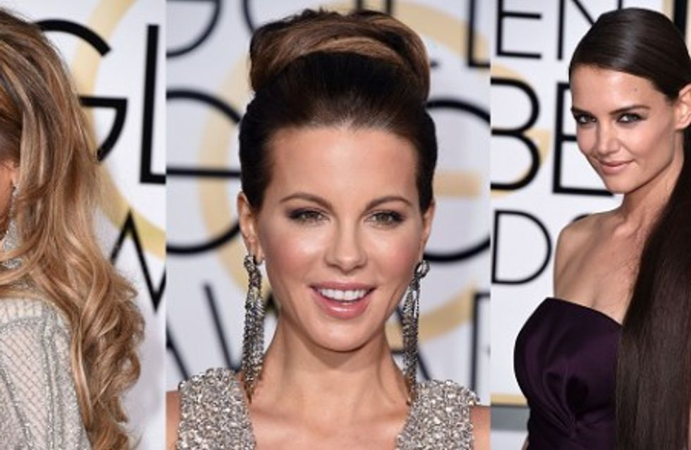 Les plus belles coiffures des Golden Globes