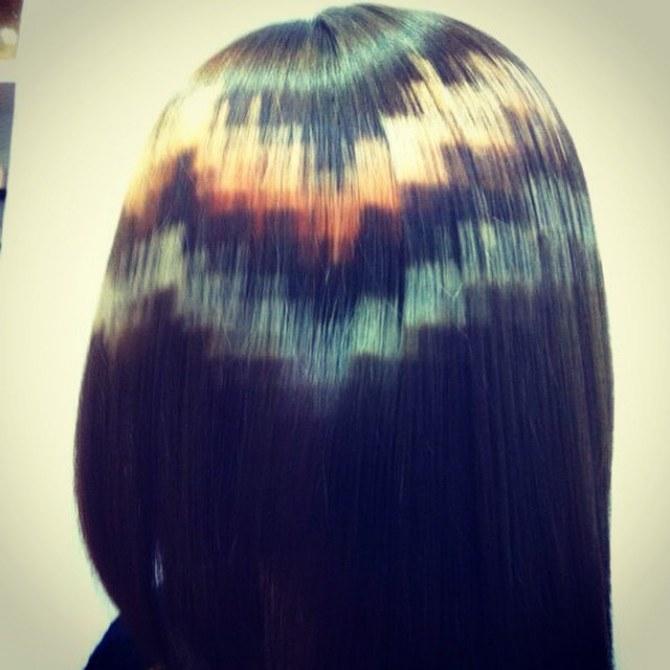 Pixel-Haare