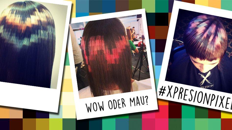 Wow oder Mau: Sind Pixel-Haare der neue Trend?