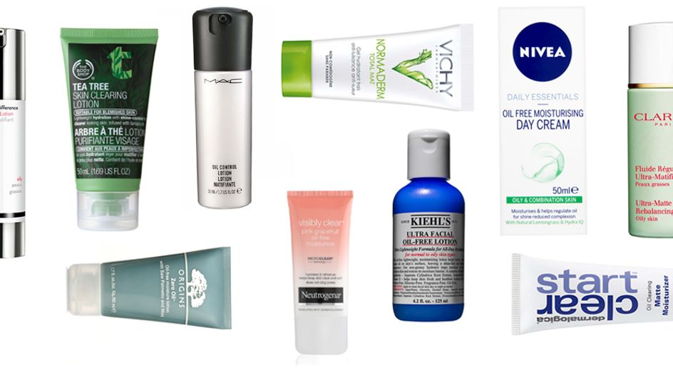 10 Of The Best Moisturisers For Oily Skin