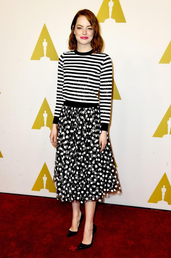 Emma Stone sur le red carpet.