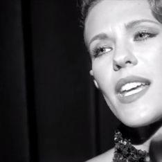 Lorie, femme fatale dans le clip de la chanson du film Les portes du soleil (Vidéo)