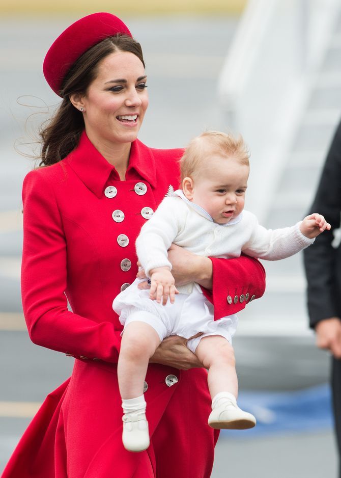 Kate Middleton et le prince George