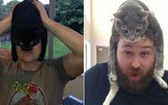 Schicker Hut! Ach nein, das ist ja eine Katze! Die witzigsten Bilder für Katzen-