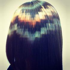 ¡Adiós mechas tradicionales! Ahora se lleva el pelo pixelado