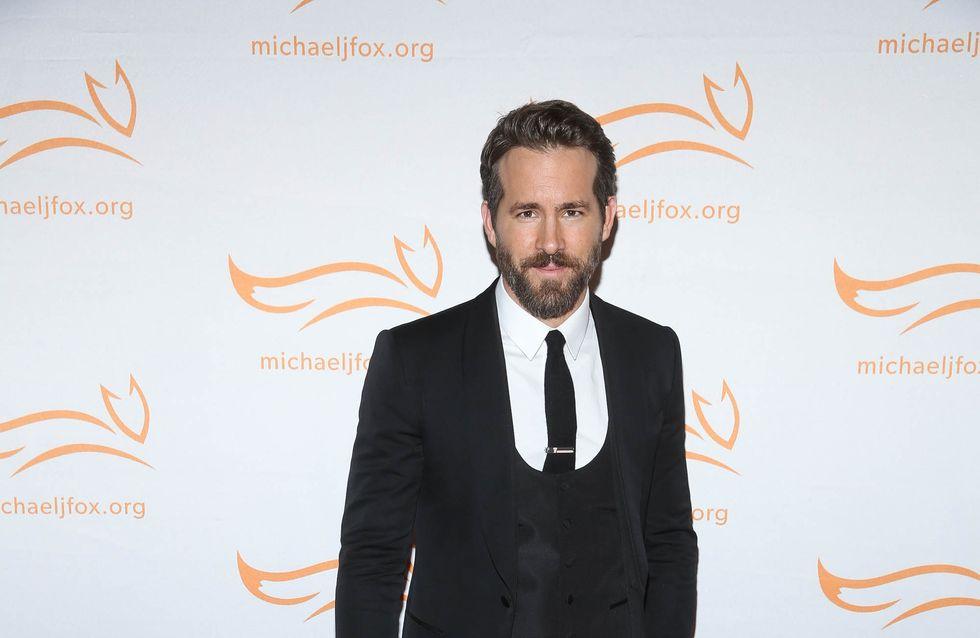 Ryan Reynolds soulagé d'avoir eu une fille