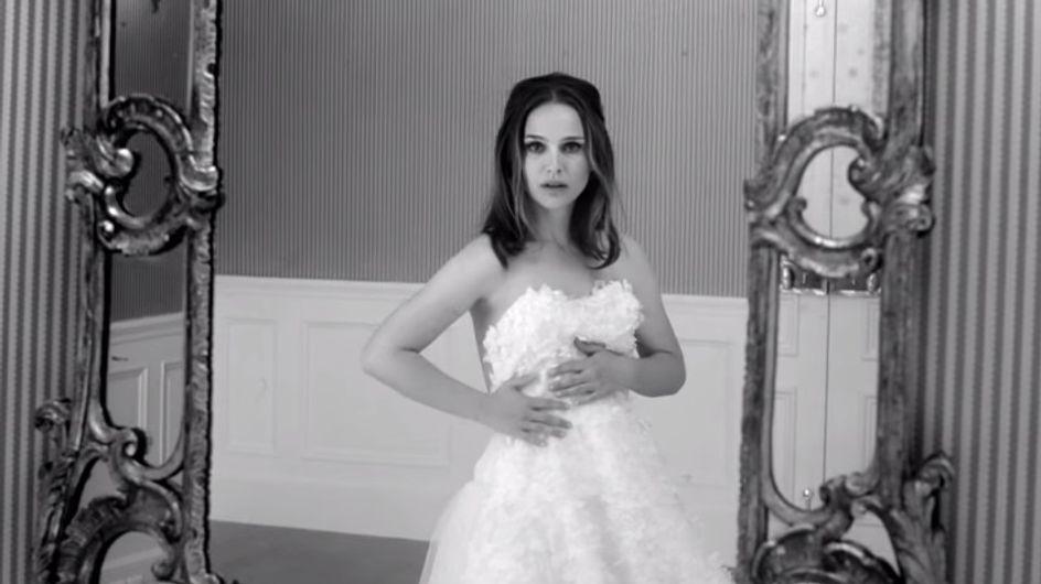 Natalie Portman, mariée rebelle pour Miss Dior (Vidéo)