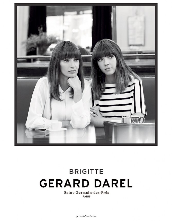 Les Brigitte pour Gérard Darel