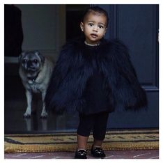 North West, adorable petite ballerine (Photos)