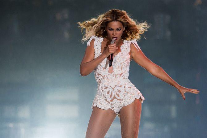 Beyoncé en concert.