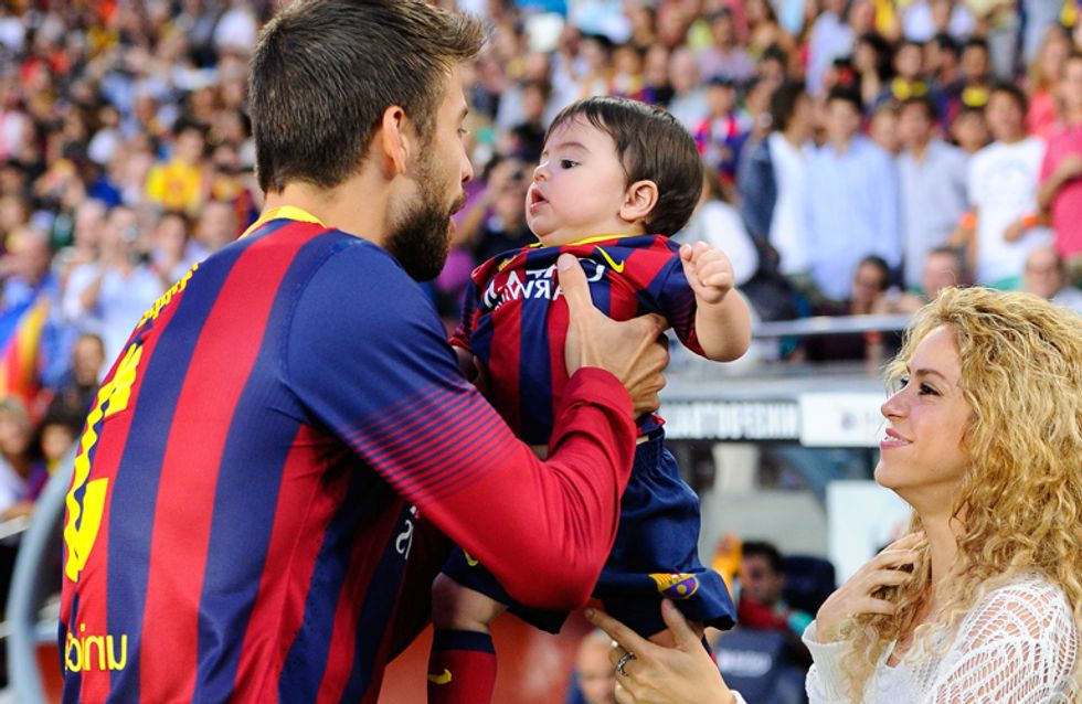 Shakira presenta a su segundo hijo, Shasha