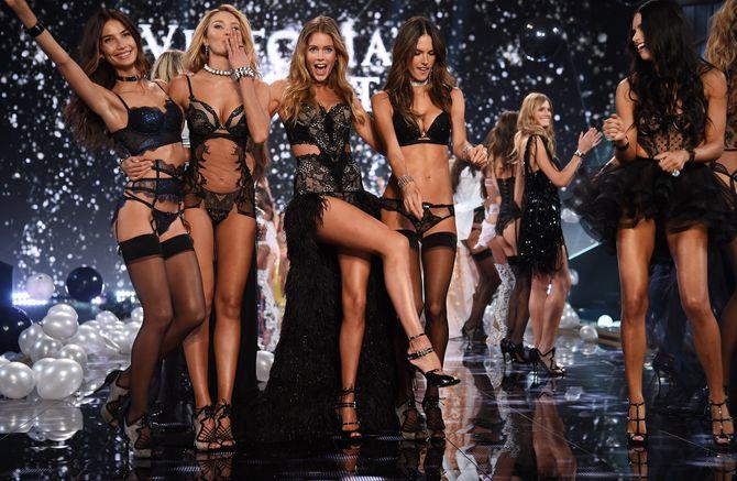Les mannequins de Victoria's Secret.