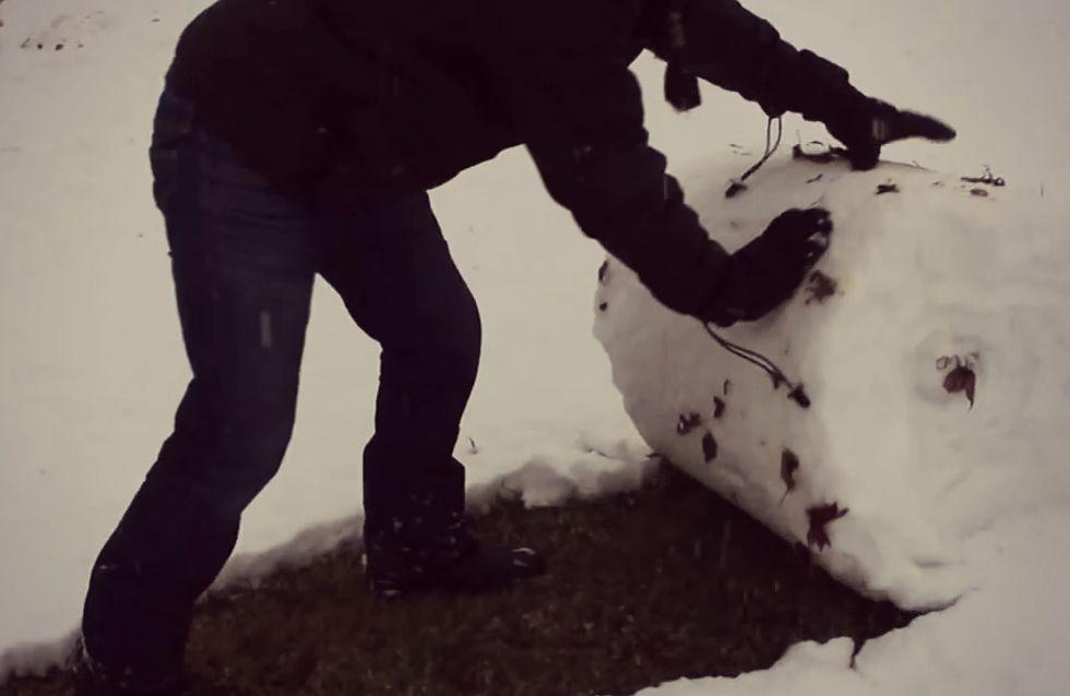 Video/ Finalmente (?) la neve! Guarda il modo più divertente e veloce per spalare il tuo vialetto
