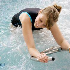 Je décuple mes efforts dans l'eau grâce à l'aquabiking (ou aquacycling)