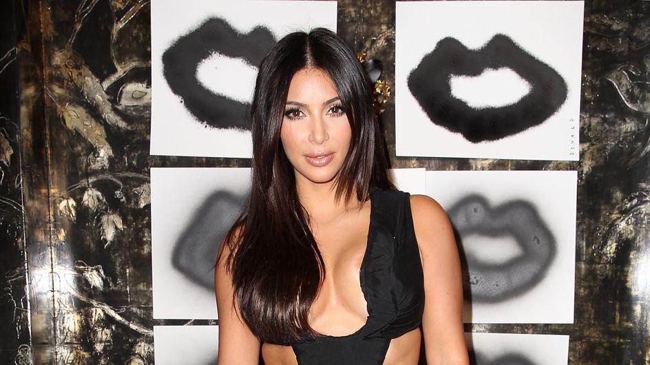 Kim Kardashian a coupé ses cheveux (Photo)