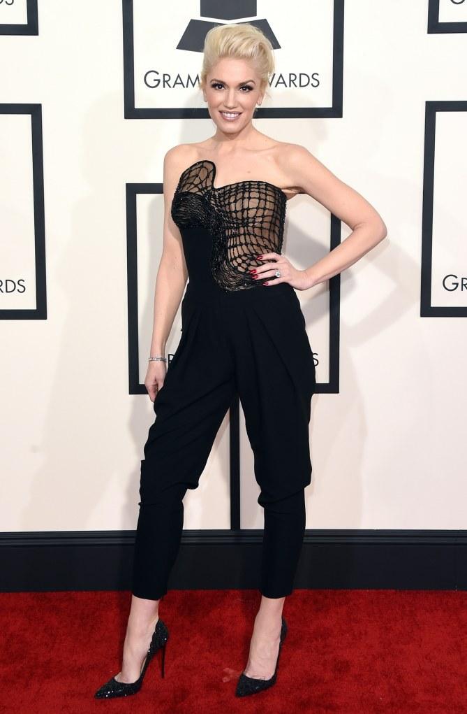 Gwen Stefani aux Grammy Awards 2015