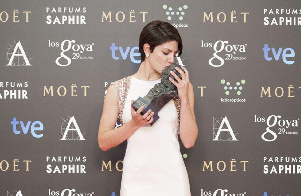Los momentos más cariñosos de los Goya: ¡vivan los besos!