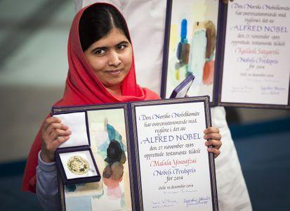 Malala, prix Nobel de la paix