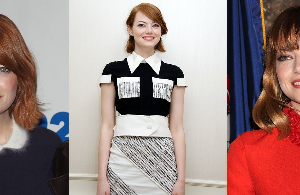 Emma Stone et ses trois obsessions mode