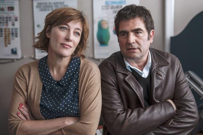 Valeria Bruni Tedeschi et Romain Goupil