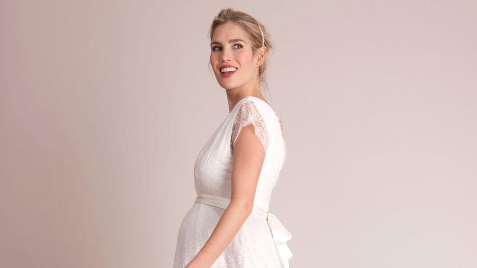 Coup de coeur : Les robes de mariée de grossesse 2015 Séraphine