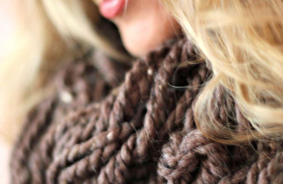 Arm Knitting: come realizzare morbide sciarpe e caldi cappelli senza bisogno di ferri!