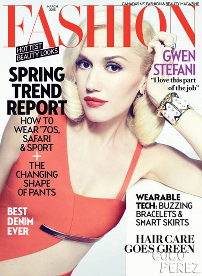 Gwen Stefani, Fashion Mag