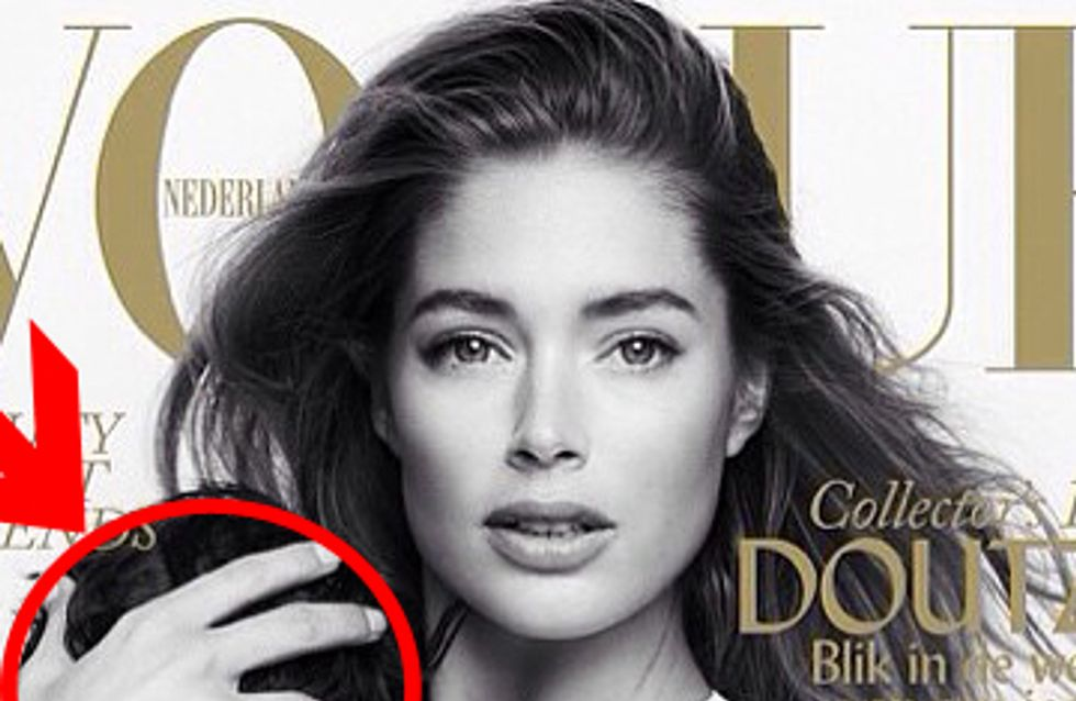 Das gab's noch nie: Victoria's Secret Model stillend in der Vogue
