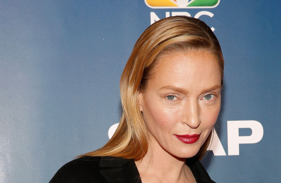 Uma Thurman Pulls A Renee Zellweger And Looks Like A Totally Different Person On The Red Carpet