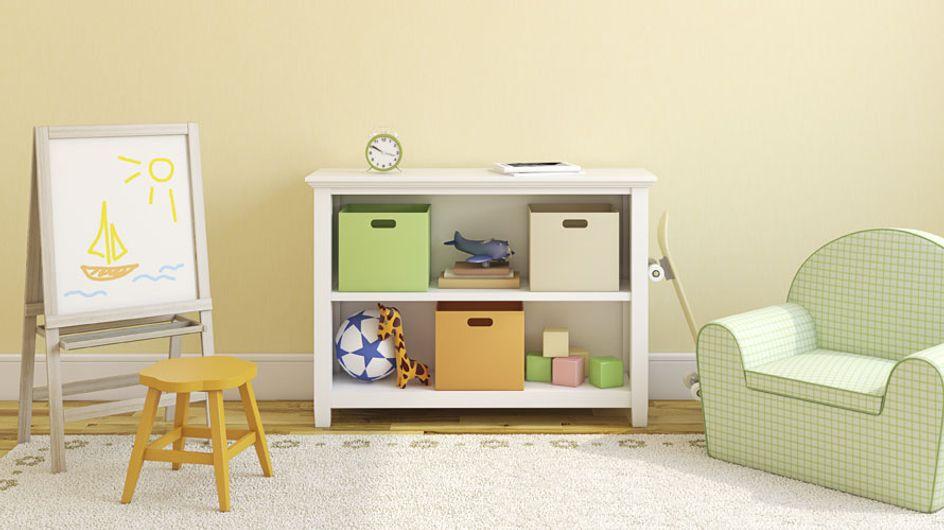¡Todo en orden! Ideas originales para organizar un dormitorio infantil