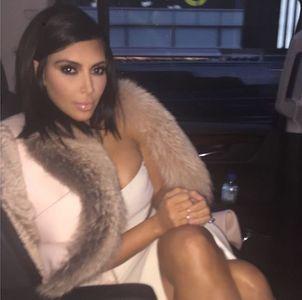 Kim Kardashian et sa coupe au carré