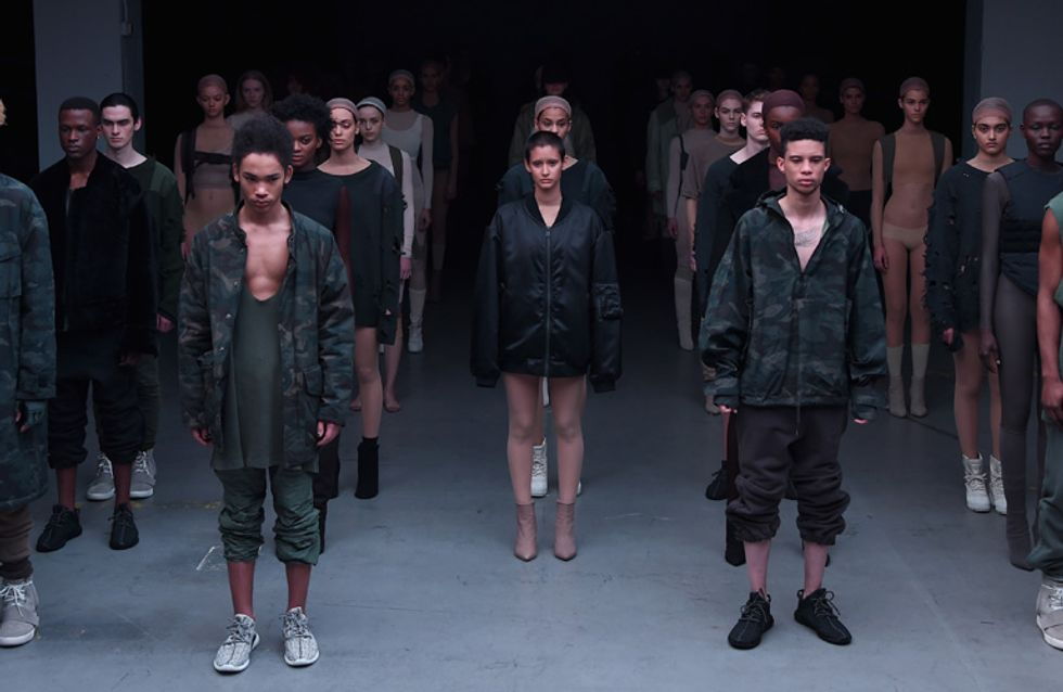 8 OMG moments from Yeezy's Fashion Show