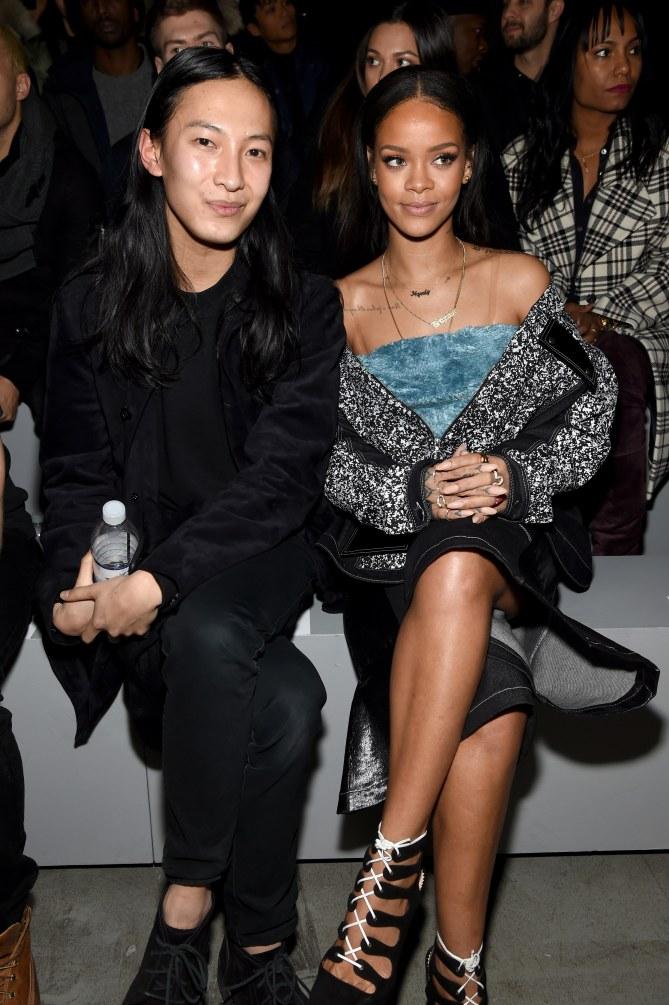 Alexander Wang et Rihanna.