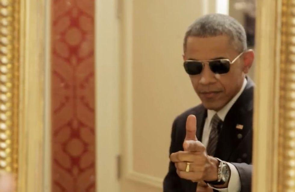 Barack Obama joue la carte de l'autodérision pour promouvoir l'ObamaCare (Vidéo)