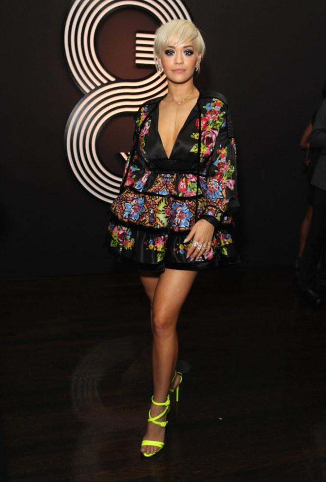 Rita Ora à la soirée GQ.