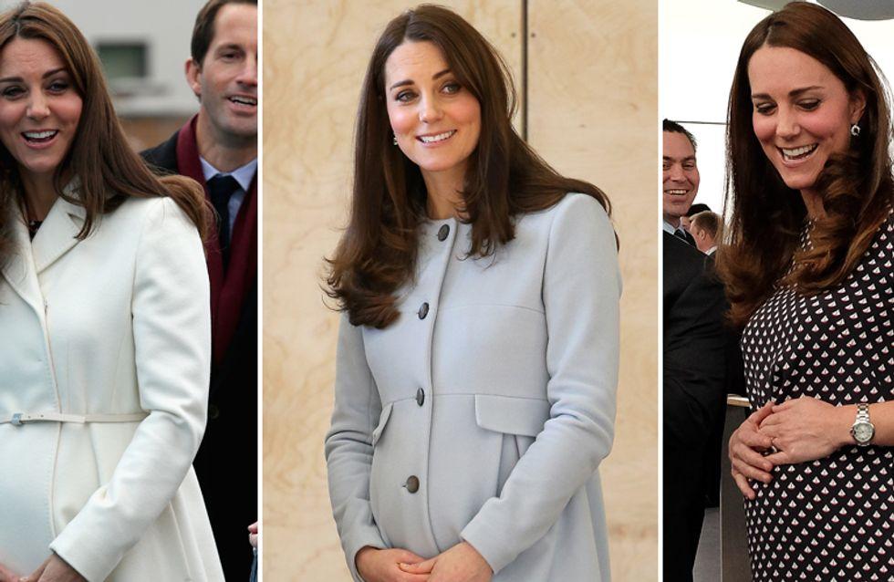 Che pancia, Kate! La Middleton mostra, finalmente, i segni della sua 2° dolce attesa