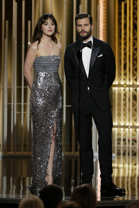 Dakota Johnson et Jamie Dornan.