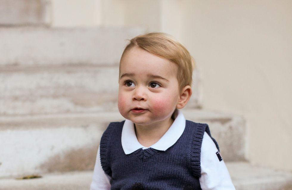 Baby George, futur artiste peintre ?