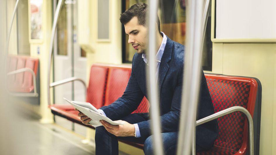Lo último en Instagram: hombres sexys que leen en el metro