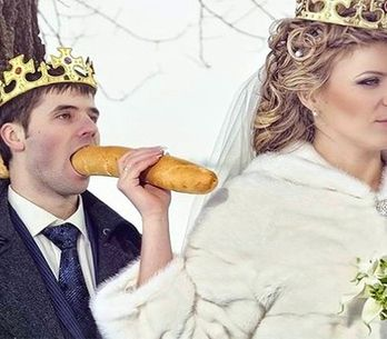 ¡ERROR! Las 30 peores fotos de bodas made in Rusia