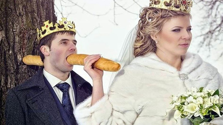 ¡ERROR! Las 30 peores fotos de bodas made in Rusia