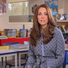 Kate Middleton, future maman engagée pour défendre les enfants en souffrance psychologique (Vidéo)