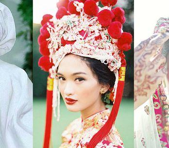 Come si veste una sposa in Cina? E in Indonesia? 10 splendide foto di spose da t