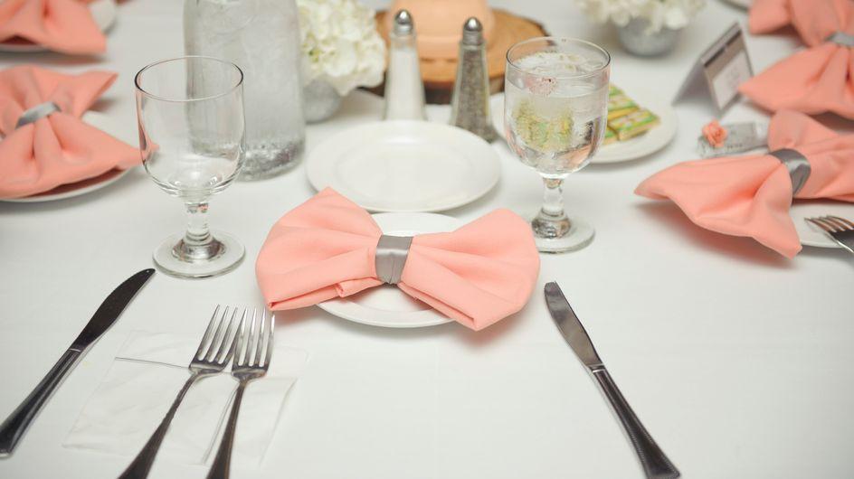Mariage : on se plie en quatre pour vos serviettes