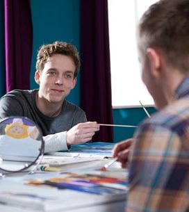 Hollyoaks 24/02 - Kim is in turmoil