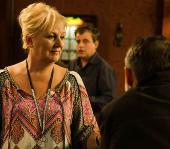 Coronation Street 25/02 - It's a close shave for Tracy and Tony