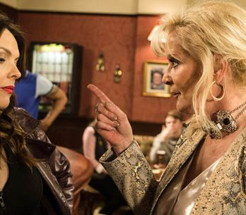 Coronation Street 27/02 - It's a close shave for Tracy and Tony