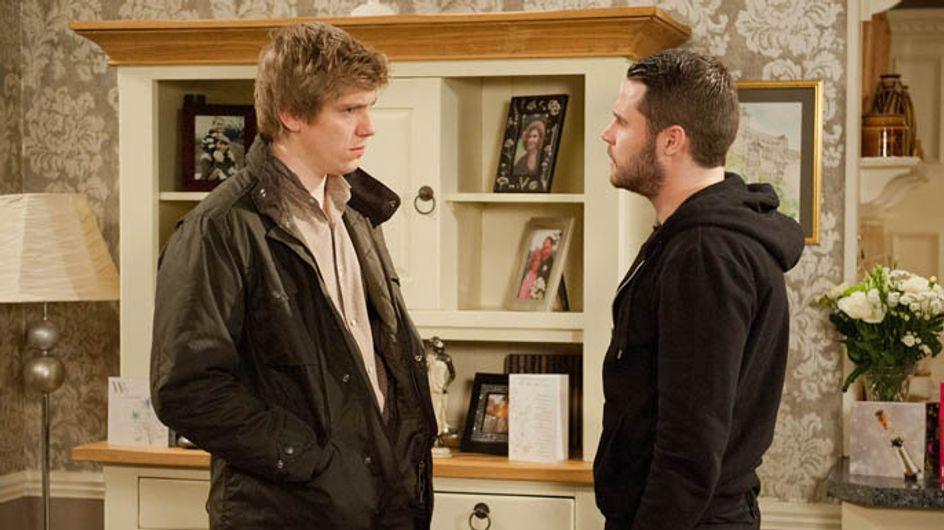 Emmerdale 23/02 - Aaron ends it with Robert