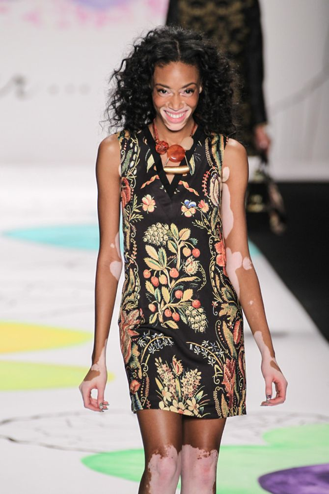 Chantelle für Desigual auf der New York Fashion Week
