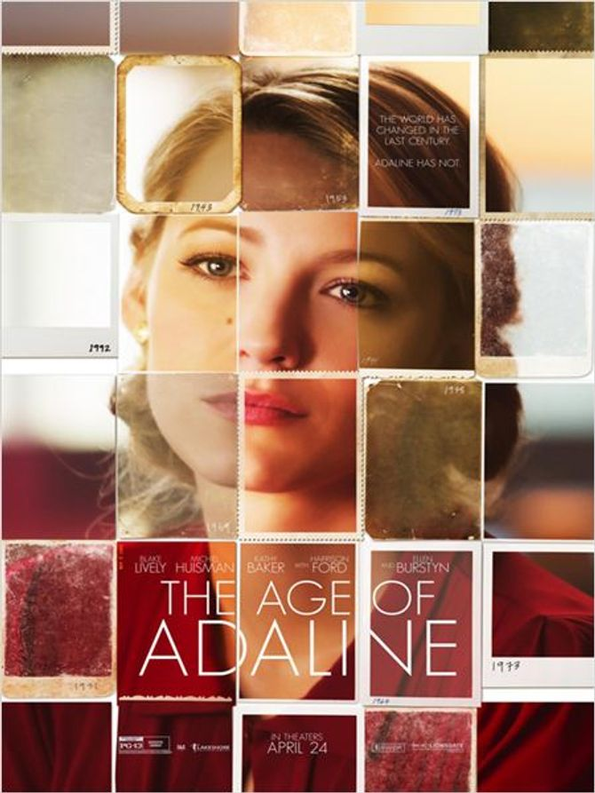 L'affiche du film The Age of Adaline